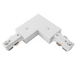 track lighting fitting. l connector an ideal track fitting and for connecting two power tracks together where a 90 turn is required in lighting system