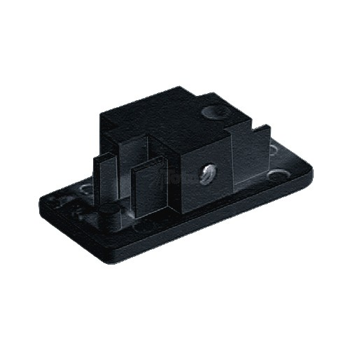 Single Circuit 3 Wire H Style Architectural Black Track