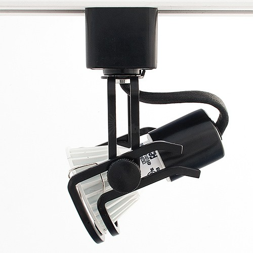 Gu10 Mr16 Black Wire Gimbal Ring Track Light Fixture Head
