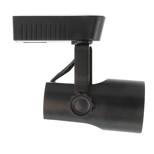 Led Track Light Fixture: Black Theatrical Style LED Low Voltage Track Light Fixture