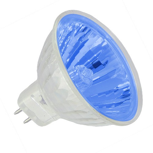 Track lighting Blue lens colored EXN MR16 50 watt 12 volt flood halogen light bulb  sc 1 st  Total Track Lighting & Track lighting Blue lens colored EXN MR16 50 watt 12 volt flood ... azcodes.com