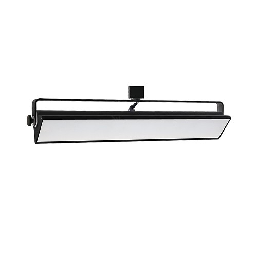 led track lighting 40watt wall wash black track light fixture 3 wire h style dimmable Wiring Two Light Fixtures Wiring Two Light Fixtures