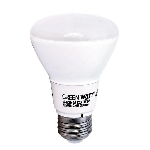 home track lighting green watt g l2 br20d 7w 5000k led 7watt br20. Black Bedroom Furniture Sets. Home Design Ideas