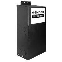 Showcase lighting EMCOD EM3-300S24DC 300watt 3 X 24volt LED DC transformer driver indoor outdoor magnetic dimmable Class 2