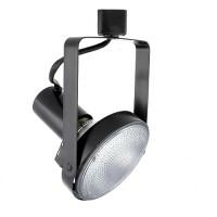 PAR38 BLACK gimbal ring track light fixture head
