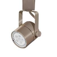 GU10 MR16 SATIN NICKEL mini round track light fixture head