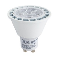 Track lighting Green Watt LED 7watt GU10 MR16 5000K 25° narrow flood light bulb dimmable G-L6-MR16GU10D-7W-50K-25
