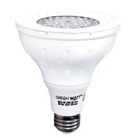 Track lighting Green Watt G-PAR30D-9W-50SS25 LED 9watt Par 30 Long Neck 5000K 25° Narrow Flood light bulb is dimmable
