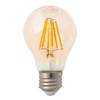 Track lighting LED vintage filament 7watt A19 Omni light bulb 2200K soft warm dimmable G-A19D7W22