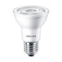 Track lighting Philips 463687 LED Par20 6watt 3000K 35° flood AirFlux light bulb dimmable 6PAR20/LED/830/F35/DIM SO 120V 6/1