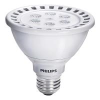 Track lighting Philips 43533-9 LED Par30 short neck 12.5watt 3000K 35° flood AirFlux light bulb dimmable