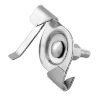 Track lighting drop ceiling T-bar clip