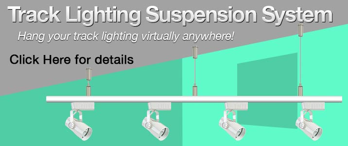 Track Lighting Suspension System