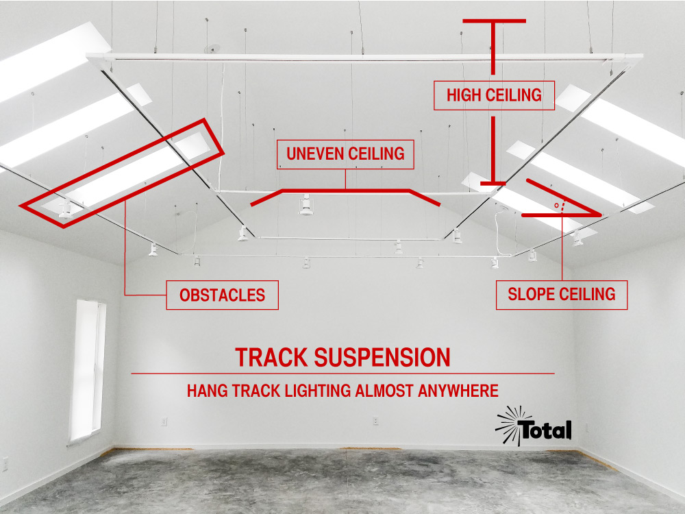 Track Suspension Track Lighting Example