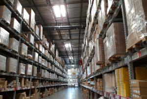 Warehouse Full Shelves