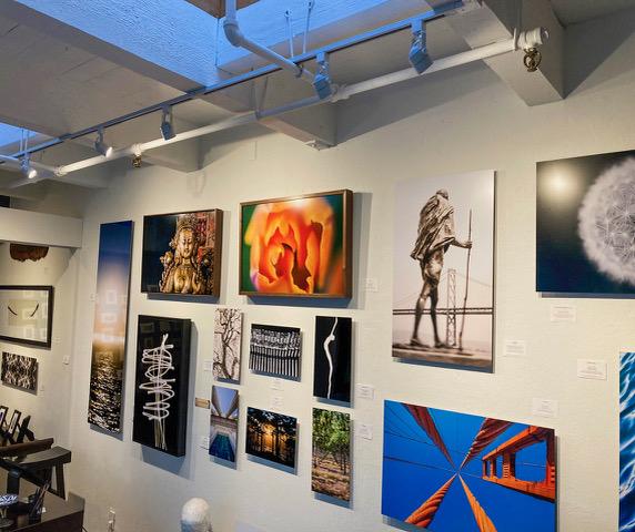 Art Gallery Art Hanging on Wall