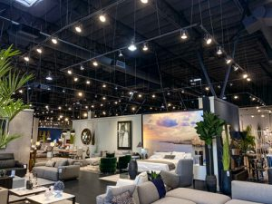 track lighting suspension system furniture store